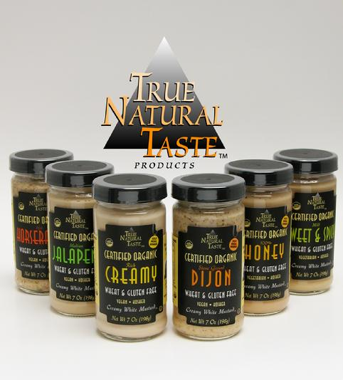 True Natural Taste Organic Mustards